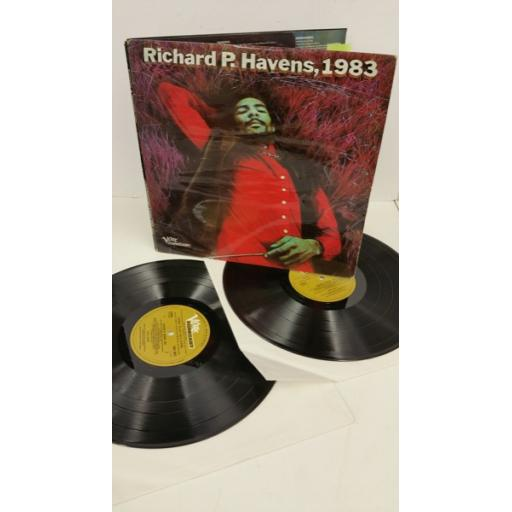 RICHIE HAVENS richie p. havens 1983, gatefold, 2 x lp, SVLP 6014