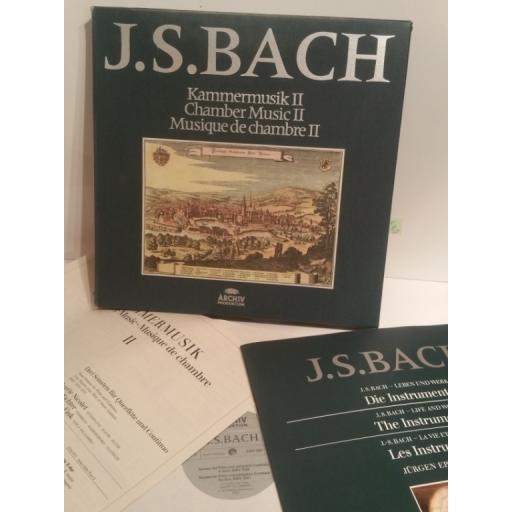J. S. Bach CHAMBER MUSIC 2 KARL RICHTER- Archiv 2722 013 7 lp Box Set
