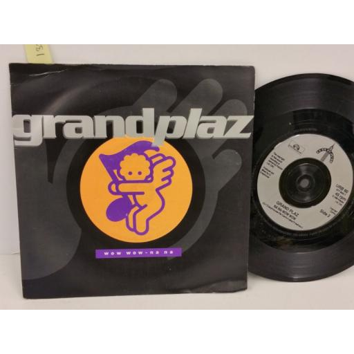 GRAND PLAZ wow wow - na na, PICTURE SLEEVE, 7 inch single, URB 60