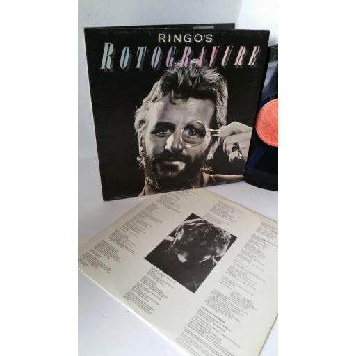 RINGO STARR ringo's rotogravure, gatefold, 2302 040