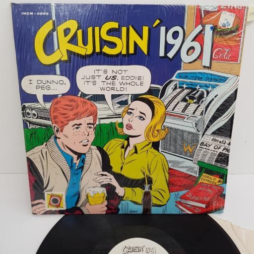 """CRUISIN' 1961, INCM 2006, 12"""" LP, compilation"""