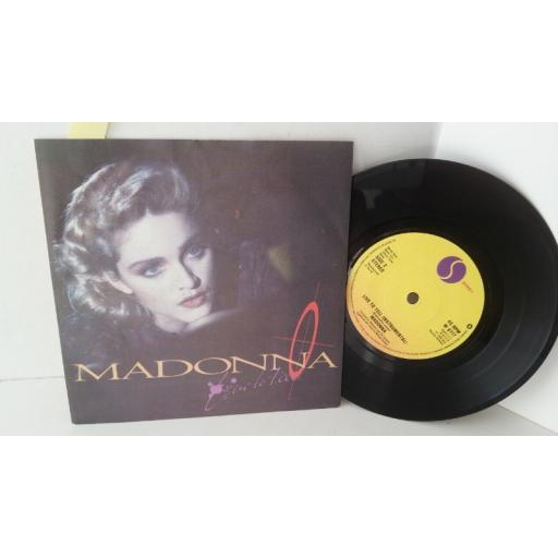 MADONNA live to tell, 7 inch single, W8717