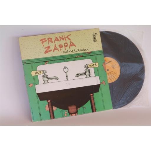 Frank Zappa Waaka Jawaka Hot Rats. Top copy. First German pressing. 1972.