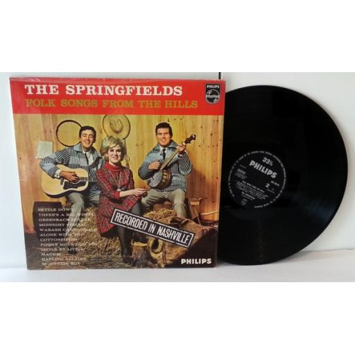 THE SPRINGFIELDS folk songs from the hills