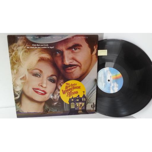 DOLLY PARTON, BURT REYNOLDS, THE WHOREHOUSE GIRLS the best little whorehouse in texas: music from the original motion picture soundtrack, MCF 3147