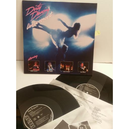dirty dancing live inconcert staring BILL MEDLEY, MERRY CLAYTON, THE CONTOURS, ERIC CARMEN. BL 90336