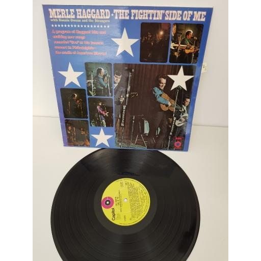 "MERLE HAGGARD, the fighting side of me, E-ST 451, 12"" LP"