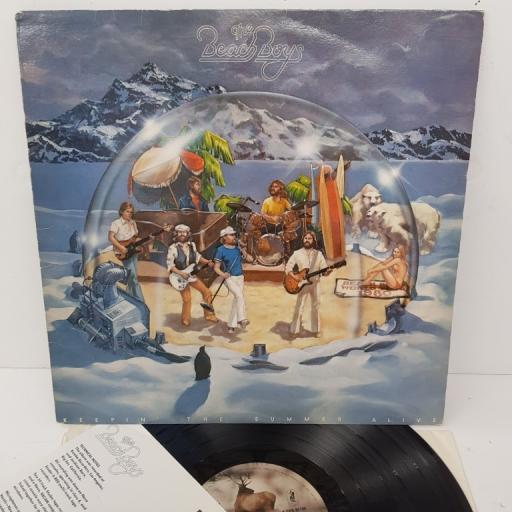 """THE BEACH BOYS, keepin' the summer alive, CRB 86109, 12"""" LP"""