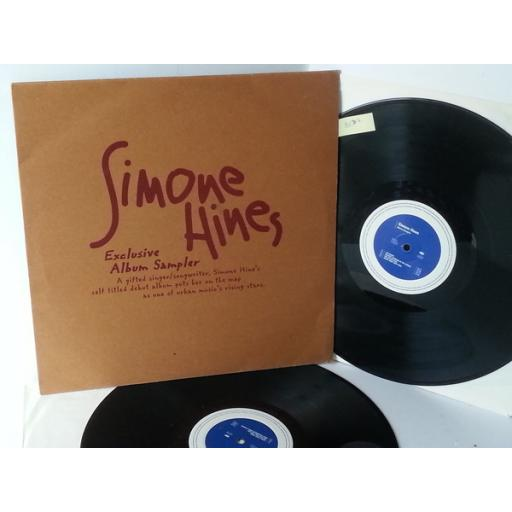 SIMONE HINES simone hines, double vinyl, XPR 3175