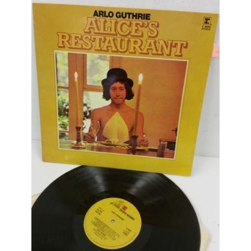 ARLO GUTHRIE alice's restaurant, K 44045