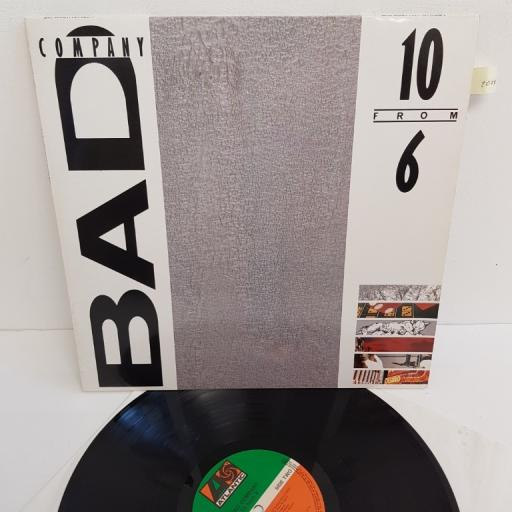 """BAD COMPANY, 10 FROM 6, 781 625-1, 12"""" LP, compilation"""