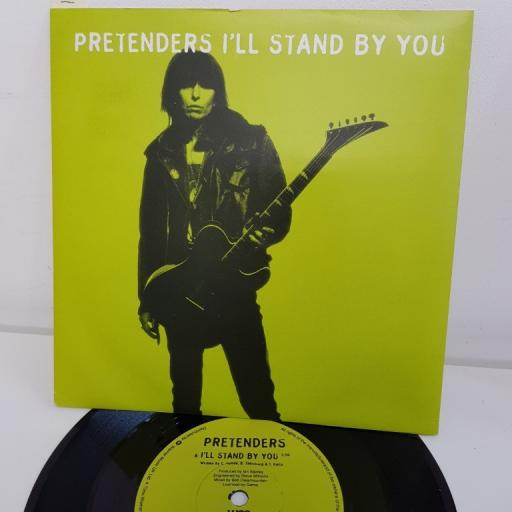 """SOLD : PRETENDERS, I'll stand by you, B side rebel rock me, YZ815, 7"""" single"""