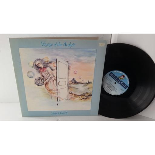 STEVE HACKETT voyage of the acolyte, gatefold, CAS 1111