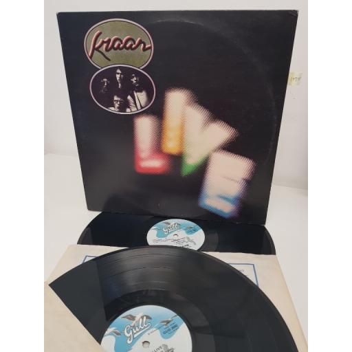 """KRAAN, live, GUD 2001/2, 2x12"""" LP"""