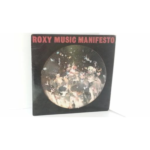 ROXY MUSIC manifesto PICTURE DISC