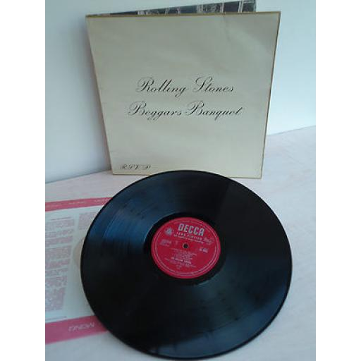 THE ROLLING STONES, beggars banquet.
