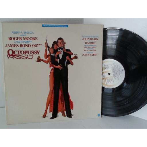 JOHN BARRY octopussy original motion picture soundtrack, AMLX 64967