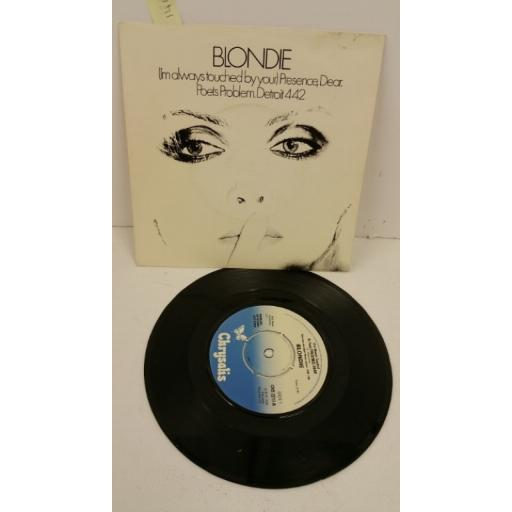 BLONDIE (i'm always touched by your) presence, dear, 7 inch single, CHS 2217