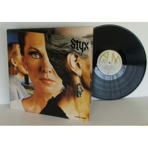 STYX Pieces of eight First UK pressing 1978 A &M