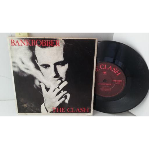 "THE CLASH bankrobber, 7"" single, 8323"
