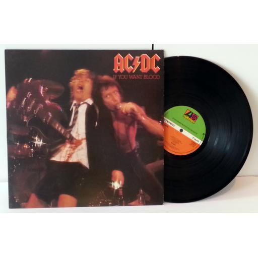 AC/DC, if you want blood. Top copy.