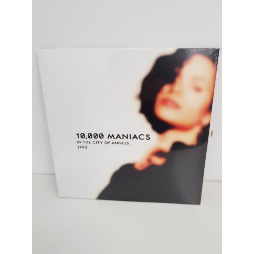 """10,000 MANIACS, in the city of angels, PARA037LP, 12"""" LP"""