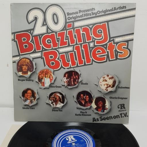 "20 BLAZING BULLETS, RTL 2012, 12"" LP"
