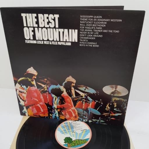 """MOUNTAIN, the best of mountain, ILPS 9236, 12"""" LP"""