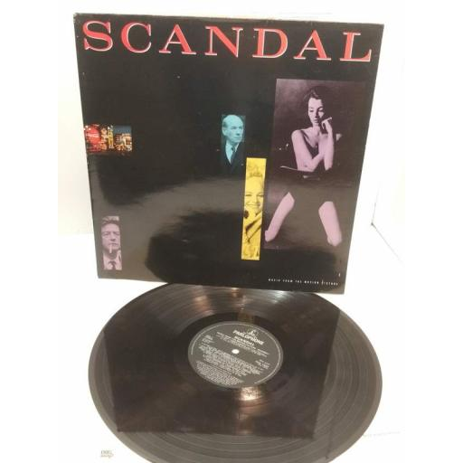 VARIOUS ARTISTS INCLUDING EDDIE COLCHRAN THE SHADOWS NAT KING COLE scandal music from the motion picture, PCS 7331