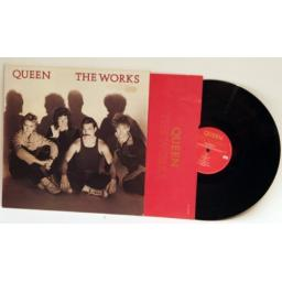 QUEEN The Works. EMC 240014
