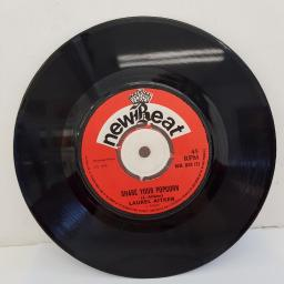 "LAUREL AITKIN & HIS BAND - Mr. Popcorn, B side - Share Your Popcorn, 7""single, NB 048, red label with black font"