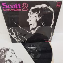 "SCOTT WALKER - Scott 2, BL 7840, 12"" LP"