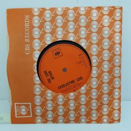 THE LOVE AFFAIR - Everlasting Love, B side - Gone Are The Songs Of Yesterday, 7 inch single, 3125. Orange label with black font