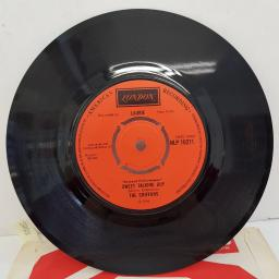 "THE CHIFFONS - One Fine Day, B side - Sweet Talking Guy, HLP 10271, 7""single, reissue, orange label with black font"