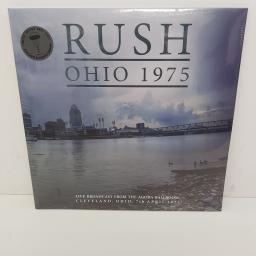 RUSH - Agora Ballroom, Cleveland Ohio, May 1975, 2x12 inch LP, limited edition, grey vinyl.