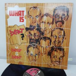 THE BEAT - What Is Beat? BEAT6, 12 inch LP, COMP. Black label with white font