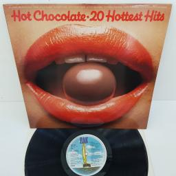 "HOT CHOCOLATE - 20 Hottest Hits, EMTV 22, 12"" LP"