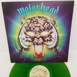 MOTORHEAD - Overkill, 12 inch LP, BRON 515, green vinyl, cream label