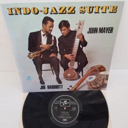 """THE JOE HARRIOTT DOUBLE QUINTET - Indo Jazz Suite under the direction of JOHN MAYER , SCX 6025, 12"""" LP"""