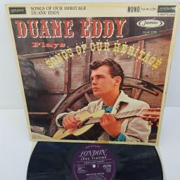 "DUANE EDDY - Songs Of Our Heritage, HA-W 2285, 12""LP, MONO, purple LONDON RECORDS label"