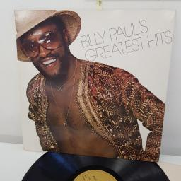 BILLY PAUL - Billy Paul's Greatest Hits, 12 inch LP, COMP. PIR 32347, gold label with black font