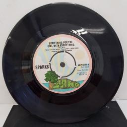 "SPARKS - Something For The Girl With Everything, B side - Marry Me, 7""single, WIP.6221, printed Island Records label"
