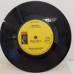 "JUDY CLAY & WILLIAM BELL - Private Number, B side - Love-Eye-Tis, 7""single, STAX 101, solid centre"
