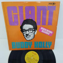BUDDY HOLLY - Giant, 12 inch LP, COMP. MUPS 371, yellow/orange printed label
