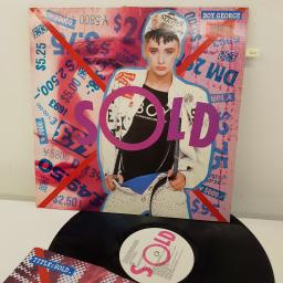 BOY GEORGE - Sold, V 2430, 12 inch LP, white label with pink/black font