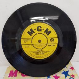 "ERIC BURDON AND THE ANIMALS - Good Times, B side - Ain't That So, 7""single, MGM 1344, yellow label with black font"