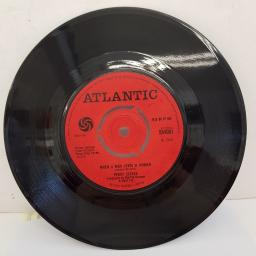 "PERCY SLEDGE - When A Man Loves A Woman, B side - Love Me Like You Mean It, 7""single, 3 prong push out centre, red label with black font, 584001"