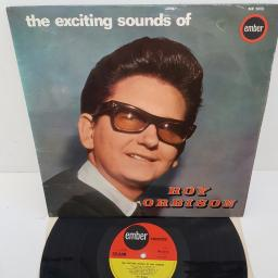 "ROY ORBISON - The Exciting Sounds of Roy Orbison, 12""LP, NR 5013. EMBER red/yellow label"