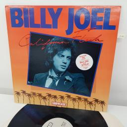 BILLY JOEL - California Flash, SHLP 114, 12 inch LP, grey striped label
