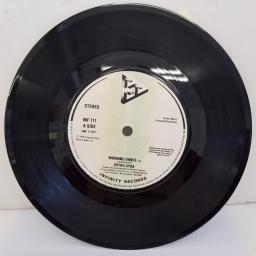 "SPYRO GYRA - Morning Dance, B side - Jubilee, Heliopolis, 7""single, INF 111, cream label with black font"
